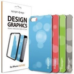 накладки sgp design graphics dynamic для apple iphone 5, 5s, 5c (sgp10579)