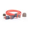 Дата-кабель Lightning, microUSB - USB для Apple iPhone 5, 5C, 5S, 6, 6 plus, 6S, 6S Plus, iPad 4, Air, Air 2, Pro 9.7, Pro 12.9, PRO, mini 1, mini 2, mini 3, mini 4 (Zetton ZTLSUSB2IN1BR) (красный) - Usb, hdmi кабель, переходникUSB-, HDMI-кабели, переходники<br>Кабель позволит подключить к USB персонального компьютера любые устройства с 8-контактным разъемом Lightning или microUSB.<br>
