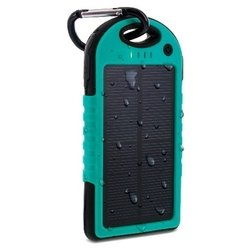 Aduro Solar Powered Backup Battery 6000 mAh