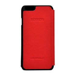 чехол-книжка для apple iphone 6, 6s (ferrari f12 booktype fef12flbkp6re) (красный)