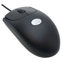 logitech rx250 optical mouse usb oem (черный)