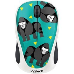 logitech m238 party collection gorilla usb (910-004715) (рисунок)