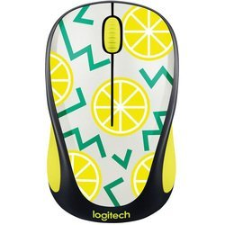 logitech m238 party collection lemon usb (910-004713) (рисунок)