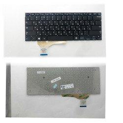 Клавиатура для ноутбука Samsung NP530U3B, NP530U3C, NP535U3C (TOP-100455) (черная, без рамки)