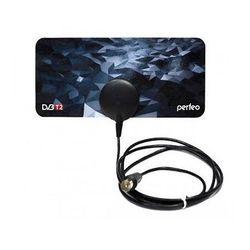 Антенна комнатная для цифрового ТВ DVB-T2 пассивная Perfeo PLANE (PF-TV3214)