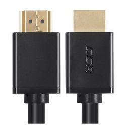 кабель hdmi v1.4 ethernet high speed 0.3m (gcr-hm410-0.3m) (черный)