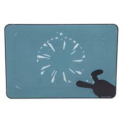 """Охлаждающая подставка для ноутбука до 17"""" (Deepcool N2 Kawaii Style) (черный)"""