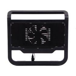 """Охлаждающая подставка для ноутбука до 15.6"""" (Deepcool N200) (черный)"""