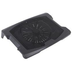 """Охлаждающая подставка для ноутбука до 17"""" (Deepcool N600) (черный)"""