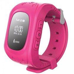 Часы-телефон с GPS-трекером Кнопка жизни K911 (розовый)