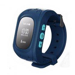 Часы-телефон с GPS-трекером Кнопка жизни K911 (синий)