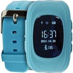 Часы-телефон с GPS-трекером Кнопка жизни K911 (голубой)