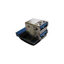 Переходник с материнской платы 20PIN - 2хUSB3.0 (Espada EIDC20P-USB3*2s)
