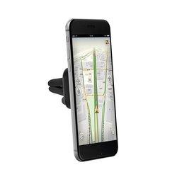 Универсальный автомобильный держатель для смартфонов (Prime Line 5504) (черный)