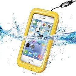 """Универсальный водонепроницаемый чехол для телефонов до 4.7"""" (Celly WPCIPH03) (желтый)"""
