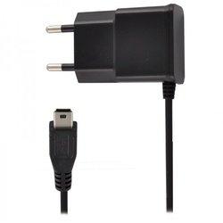 Сетевое зарядное устройство miniUSB, 1A (Oxion ACA-007) (черный)