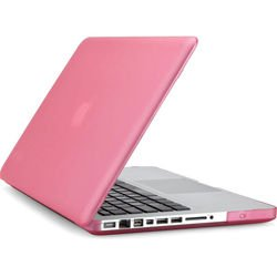Чехол-накладка для MacBook Pro 15 (Speck SeeThru Satin SPK-A1505) (розовый)