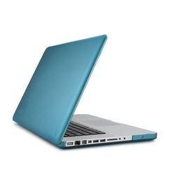 Чехол-накладка для MacBook Pro 15 (Speck SeeThru Satin SPK-A1493) (голубой)