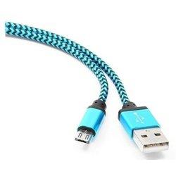 Кабель USB AM-microUSB BM 5P 1м (Gembird/Cablexpert CC-mUSB2bl1m) (синий)