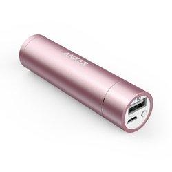 Универсальный внешний аккумулятор Anker Astro mini 3350 мАч, 1A (A1104H51) (розовый)
