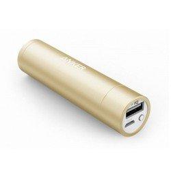 Универсальный внешний аккумулятор Anker Astro mini 3350 мАч, 1A (A1104HB1) (золотистый)