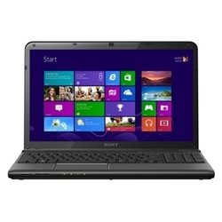 "ноутбук sony vaio sv-e1513p1r/b (core i3 3120m 2500 mhz, 15.5"", 1366x768, 4096mb, 500gb, dvd-rw, wi-fi, bluetooth, win 8 64) black"