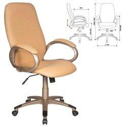 Кресло руководителя Бюрократ T-700Y/Or-13 (бежевый)