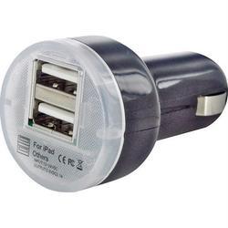 Автомобильное зарядное устройство VCOM CA851A (черный)