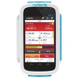 Универсальный велосипедный держатель для смартфонов (Runtastic RUNCAA1W) (белый)