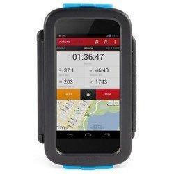 Универсальный велосипедный держатель для смартфонов (Runtastic RUNCA2) (черный)