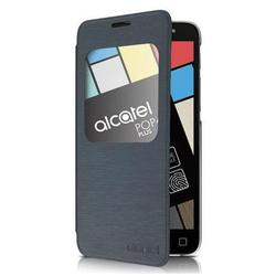 чехол-книжка для alcatel one touch pop 4+ (alcatel aero af5056) (черный)