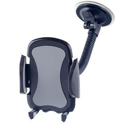 """Автодержатель для смартфона до 6.5"""" (Perfeo PH-517) (черный)"""