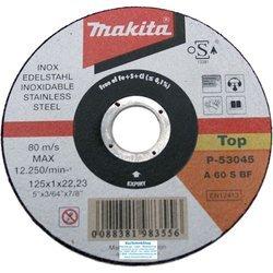 Отрезной диск по нержавеющей стали Makita P-53045