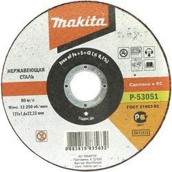 Отрезной диск по нержавеющей стали Makita P-53051