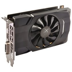 xfx radeon rx 460 1220mhz pci-e 3.0 2048mb 7000mhz 128 bit dvi hdmi hdcp single fan