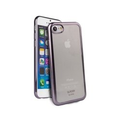 Чехол-накладка для Apple iPhone 7 (Uniq Glacier Frost IP7HYB-GLCFGMT) (темно-серый)