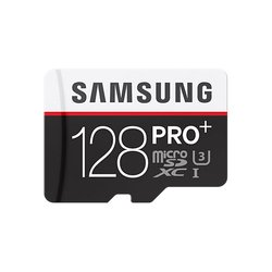 Samsung PRO Plus microSDXC 128GB Class 10 + SD адаптер (MB-MD128DA/RU)