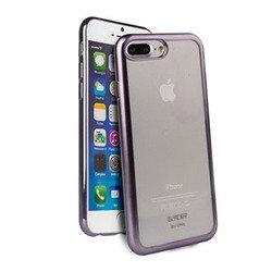 Чехол-накладка для Apple iPhone 7 Plus (Uniq Glacier Frost IP7PHYB-GLCFGMT) (темно-серый)