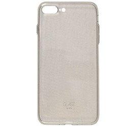 Чехол-накладка для Apple iPhone 7 Plus (Uniq Glase IP7PHYB-GLSSMK) (серый)