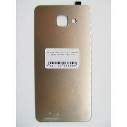 Задняя крышка для Samsung Galaxy A7 A710 2016 (99590) (золотистый) (1 категория Q)