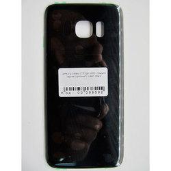 Задняя крышка для Samsung Galaxy S7 Edge G935 (99592) (черный) (1 категория Q)