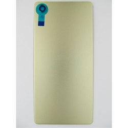 Задняя крышка для Sony Xperia X F5121 (99516) (лайм) (1 категория Q)