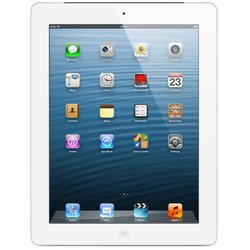 apple ipad 4 128gb wi-fi white :::