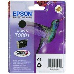 Картридж для Epson Stylus Photo T0801 (черный)
