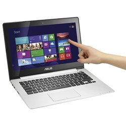 "ASUS VivoBook S300CA-C1023H 90NB00Z1-M00560 (Core i5 3317U 1700 Mhz, 13.3"", 1366x768, 4096Mb, 320Gb, DVD нет, Intel HD Graphics 4000, Wi-Fi, Bluetooth, Win 8 64) черный"