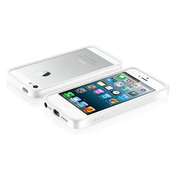 бампер для iphone 5 sgp neo hybrid ex snow (белый)