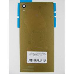 Задняя крышка для Sony Xperia Z5 Premium (99453) (золотистый) (1 категория Q)