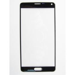 Стекло экрана для Samsung Galaxy Note 4 N910C (97937) (черный) (1 категория Q)