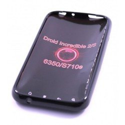 силиконовый чехол-накладка для htc incredible s (palmexx px/sil hc ingredible s) (black pearl)