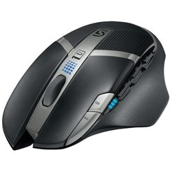 Logitech G602 Wireless Gaming Mouse Black USB